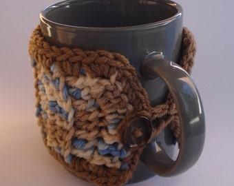 Mug cozy - Mug warmer - Mug Hug - handmade crochet - Stocking Stuffers