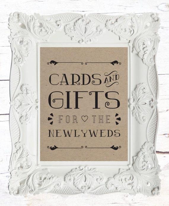 Wedding Gift Table: Items Similar To Gift Table Wedding Sign // Rustic Wedding