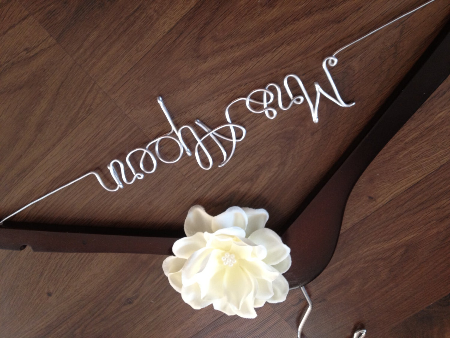 wedding hanger personalized bride hanger bridal shower gift