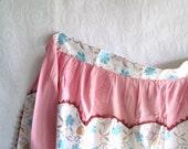 Retro Pink Cotton Apron