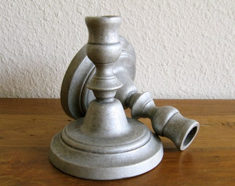 Pair of Metal Candle Sticks/Holders