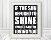 Zeppelin Inspired - I would still be loving you - 8x10 Print - number 2