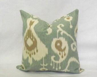Decorative Throw Pillow, Ikat Pillow Cover,Toss Pillow,Accent Pillow, Toss Pillow, Accent Pillow, 18x18, 20x20, 22x22 Pillow Cover