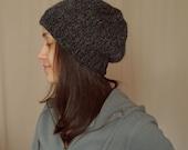 Unisex Hand Knit Slouchy Beanie Hat