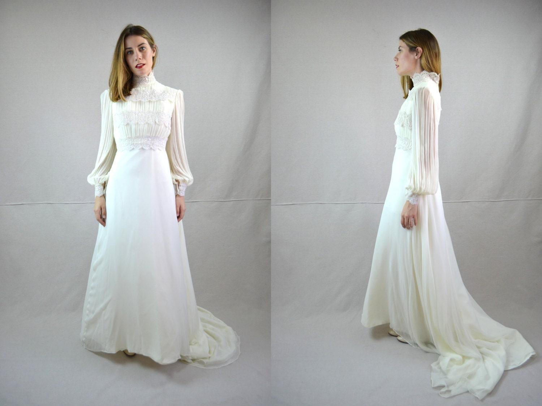70s Wedding Dress 1970s Wedding Dress Arlette