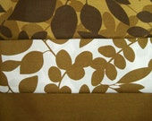 "Fat Quarter Bundle - Maywood Studio ""Floral Fusion"" Fabric collection Brown Print"