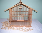 Bamboo Bird Cage