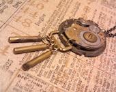 Chimes Steampunk Pendant