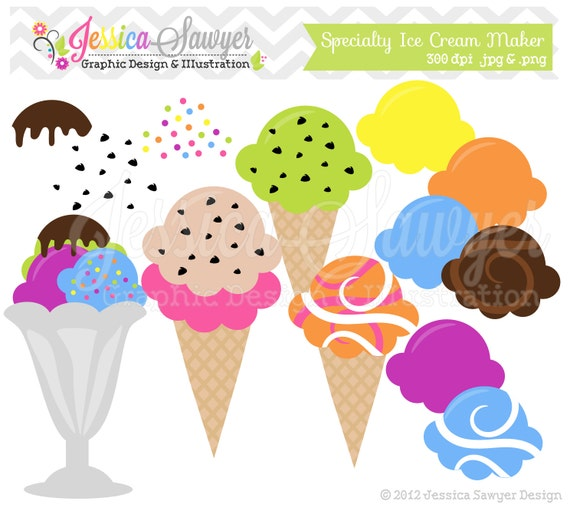clip art ice cream party - photo #43