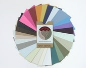 Paper Samples for Custom Color Ketubot