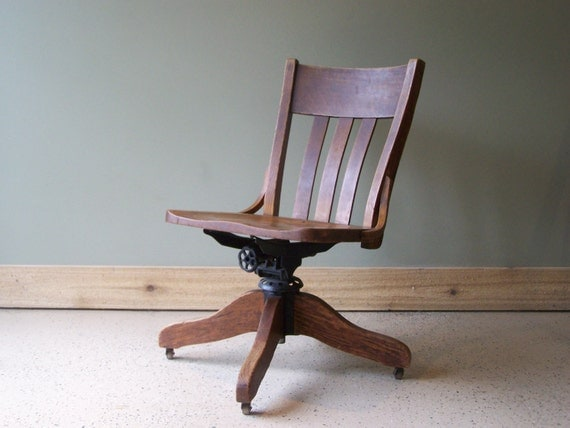 Office Or Desk Chair By Murphy Chair Company Wooden Office