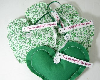 Thank You Gift Grateful Hearts Gift Set Greens
