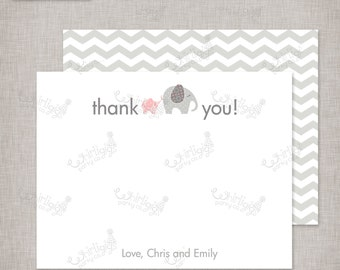 """Customized Thank You Notes - """"Baby of Mine"""" Baby Shower Theme"""