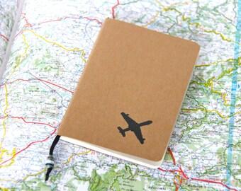 Travel Journal, Mini Notebook, Travel Diary, Vacation Journal, Pocket Journal