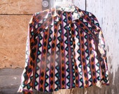 Vintage Rodeo Western Wear Cowgirl Button Up Shirt