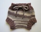 Newborn Hand Knit Soaker