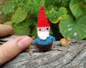 SALE Wee Mites™ Sammy the Tiny Gnome by Joyous Crafts, Gnome Kids, Waldorf Inspired Gnome, Fairy Garden Decoration