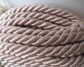 vintage satin twist cord upholstery trim