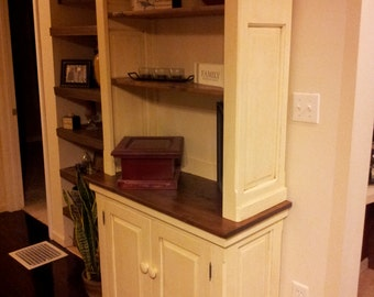 Hand Crafted Hutch