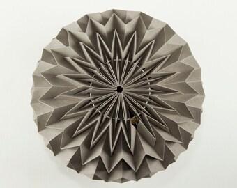 BUBBLE: Hanging Decor Origami Paper Ball - Grey / FiberStore by Fiber Lab