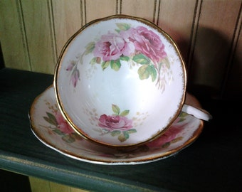 Royal Albert American Beauty Teacup and Saucer