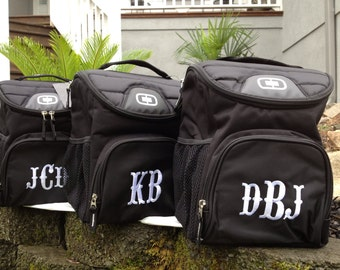 Personalized Groomsmen Cooler| Monogrammed Groomsman cooler, Wedding Party cooler, Groomsmen gifts, Beer cooler, OGIO cooler 6-12 can