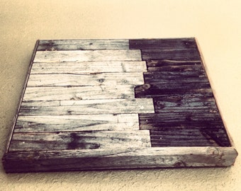 Reclaimed Wood Panel Art