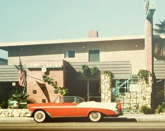 Laguna Beach photograph, Vintage photograph, Chevy, California, Capri Laguna Hotel, Travel photography, Emily Henderson Blog