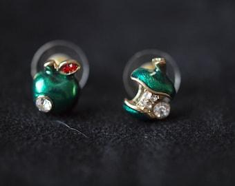 Eve ate the Apple earrings
