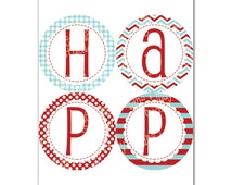 raggedy ann custom designed banner / sign you print at home