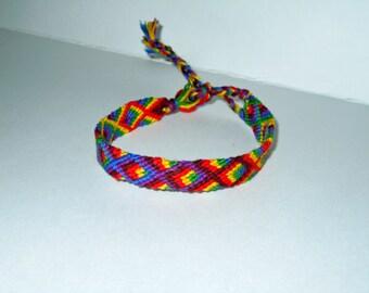 Friendship Bracelet - fisherman - Rainbow - Summer