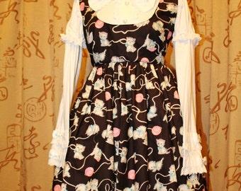 Kitty cat lolita JSK dress