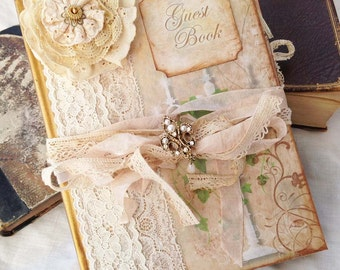 Enchanted Forest-Wedding Guest Book - 60 page A5