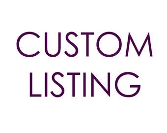 Custom Item Request