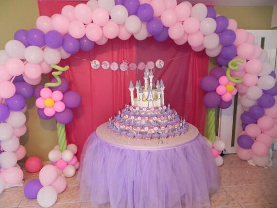 Tulle Tutu Table Skirt Head Party Custom Made You