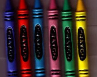 Crayon Resins, 12 pack