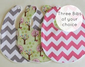 Your Choice of 3 - Baby Bibs
