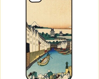 Hokusai - Nihonbashi - iPhone / Android Case / Cover - iPhone 4 / 4s, 5 / 5s, 6 / 6 Plus, Samsung Galaxy s4, s5, s6