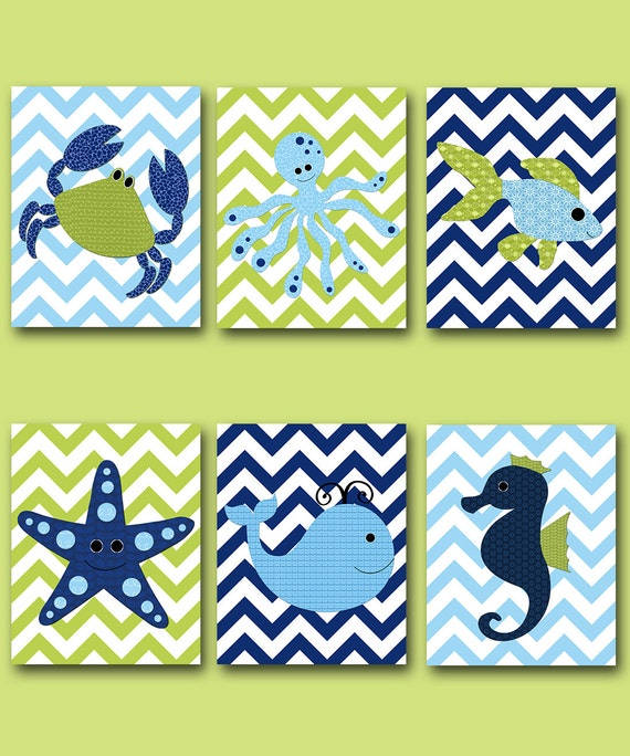 Baby Boy Nursery Art Nursery Wall Art Baby Nursery Kids Room Decor