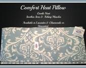 NiaMassage Comfort Heat Pillow - Cerulean Arabesque