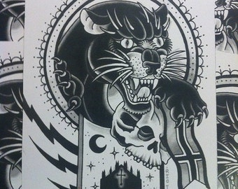 The milan panther - 2012 Ashley Riot print