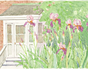 The Artist's Garden - Limited Edition of 25 prints