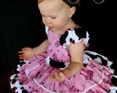 Pink Cowgirl Dress for Pageants and Birthday's