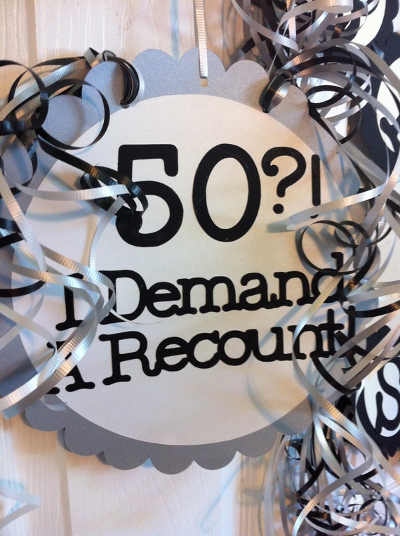 Unavailable listing on etsy for 50th birthday decoration ideas for office