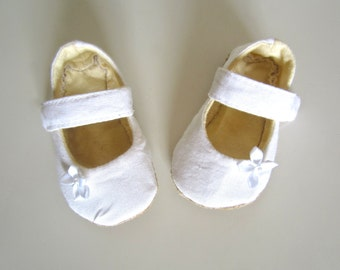 Toddler Formal White Baby Shoes