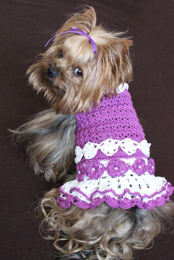 Crochet Dog Pattern Small