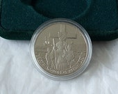 1984 Canadian Dollar Coin Jacques Cartier Proof