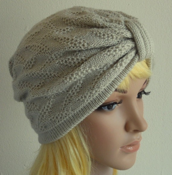 Knit Turban Hat Womens hat Knit by accessoriesbyrita on Etsy