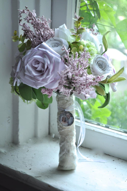 Bridal bouquet paper flower alternative
