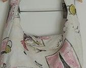 Small Paris Handbag with Flap Closure